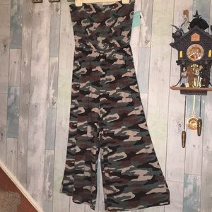 Arizona Juniors Camo Jumpsuit